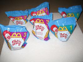 NEW 1998 McDonalds Furby Furbies Happy Meal Toys Mobile Figurine #1-3 x2... - $14.99