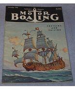 Yachtsmen Magazine Motor Boating November 1950 - $7.95
