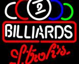 Strohs ball billiards text pool neon sign 16  x 16  thumb155 crop
