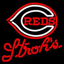 MLB Strohs Cincinnati Reds Neon Sign - $699.00