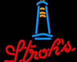 Strohs lighthouse neon sign 16  x 16  thumb155 crop