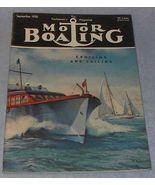 Yachtsmen Magazine Motor Boating September 1950  - $7.95