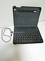 Logitech Universal Folio Stand Keyboard For Tablets Ultra Thin Case w/Cord Parts - $12.66