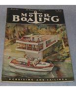 Yachtsmen Magazine Motor Boating March 1951  - $7.95