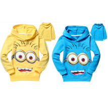 KIDS hoodies despicable me 2 minion boys cloth giresls shirts long , CHR... - $11.39