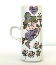 "Royal Crown Arnart Smug Mug ""I Love You"" by Kitty Green  33-386 Vintage - $14.99"
