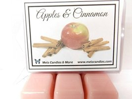 Apples & Cinnamon- 3.2 Ounce Pack of Soy Wax Tarts (6 Cubes Per Pack)- S... - €2,64 EUR