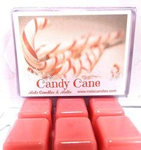 Candy Canes 3.2 Ounce Pack of Soy Wax Tarts - Scent Brick -Tarts for All... - £2.13 GBP