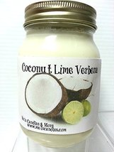 Coconut Lime Verbena 16oz All Natural Soy Candle [Kitchen] - £7.84 GBP
