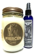 Combo - Fiercer (A&f Type)- 16oz Candle & 4oz Bottle of Body Spray -All ... - €16,83 EUR