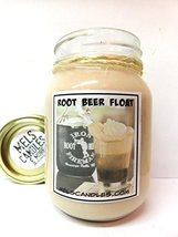Root Beer Float Sweet Aroma 16oz All Natural Soy Candle Approximate Burn... - $13.99
