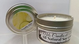 Cucumber Melon 4 Ounce Tin Candle, Take It Any Where [Kitchen] - $5.99