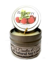 Bayberry 4oz All Natural Soy Candle Tin, Take It Any Where- Approximate ... - €5,28 EUR
