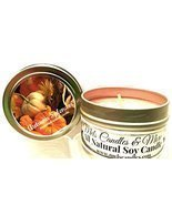 Autumn Splendor -4 Oz All Natural Soy Candle Tin [Kitchen] - $7.90 CAD