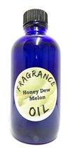 Honey Dew Melon 4oz Blue Glass Bottle of Premium Fragrance Oil, Skin Saf... - $11.99