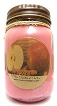 Apples & Cinnamon 16oz All Natural Soy Candle Approximate Burn Time 144 ... - $12.99