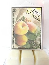 Fresh Peaches - 3.2 Ounce Pack of Soy Wax Tarts (6 Cubes Per Pack) - Sce... - €2,51 EUR