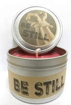 Be Still - 8oz Novelty Tin Soy Candle APX Burn 70 Hours [Kitchen] - $8.99