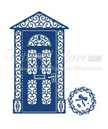 Tattered Lace Dies ~ Front Door & Mini Wreath, TTLD408 ~ RETIRED! - $33.11