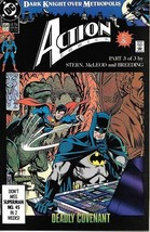 Action Comics Comic Book #654 DC Comics 1990 VERY FINE- - $1.99