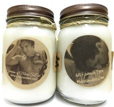 Woods & Socal Version of Af & Hollister Set of Two- 16oz Soy Candles APX... - $28.99