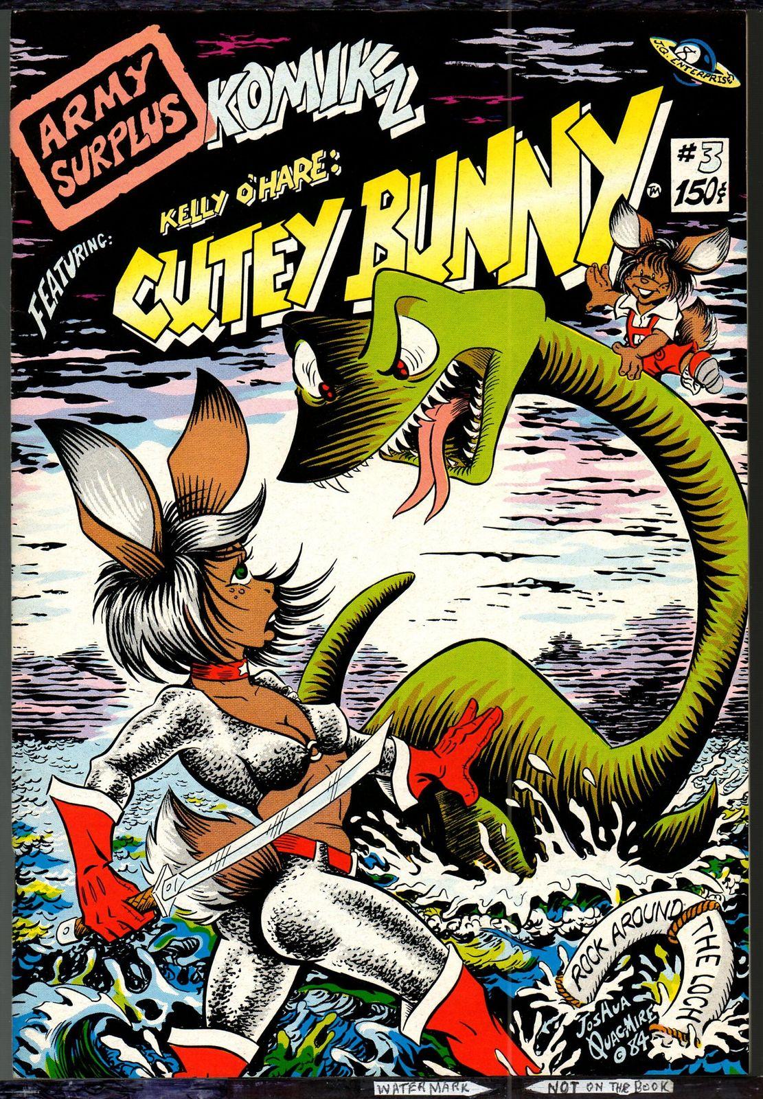 Army Surplus / Cutey Bunny 1,2,&3, Joshua Quagmire 1982-4,
