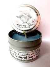 Downy Type 4oz All Natural Soy Candle Tin (Take It Any Where) [Kitchen] - $5.99