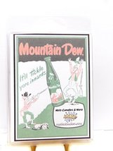 Mountain Dew Soda Aroma 3.2 Ounce Pack of Soy Wax Tarts - Scent Brick, W... - $2.99