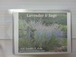 Lavender & Sage 3.2 Ounce Wax Tarts - Scent Brick, Wickless Candle [Kitc... - €2,64 EUR