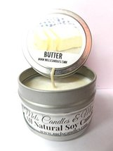 Butter - 4oz All Natural Soy Candle Tin - Approximate Burn Time 36 Hours - $5.99