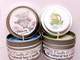 Gain and Downy Type- Set of TWO 4oz All Natural Soy Candle Tins [Kitchen] - $9.99