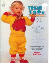 Patons 522 Knitting Pattern Child Knit Sweaters Pants Skirt Hat Mitts - $4.93