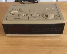 Sony Dream Machine Fm Am Alarm Clock Radio Vintage - $23.38