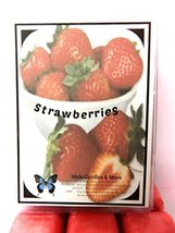 Fresh Strawberries 3.2 Ounce Pack of Soy Wax Tarts - Scent Brick, Wickle... - $2.99