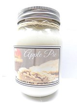 Baked Apple Pie- Handmade 16oz All Natural Soy Candle Approximate Burn T... - £7.84 GBP