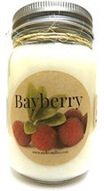 Bayberry 16oz Country Jar Soy Candle Handmade with an Essential Oil Blen... - €11,77 EUR
