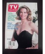 TV Guide 1783~Cybill Shepard Moonlighting battles~May 30,1987~Hal Willia... - $13.95