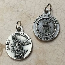 """Saint Michael Archangel 3/4"""" Protection Medal Pendant United States Air Force - $5.95"""