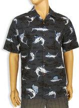 "Man's Casual Short Sleeve Hawaiian Tropical Shirt ""Marlin Fishing"" Made ... - $45.99+"
