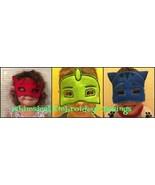 PJ Masks Set of 3  Machine Embroidery APPLIQUE GET INSTANT  DOWNLOAD RIG... - $9.99
