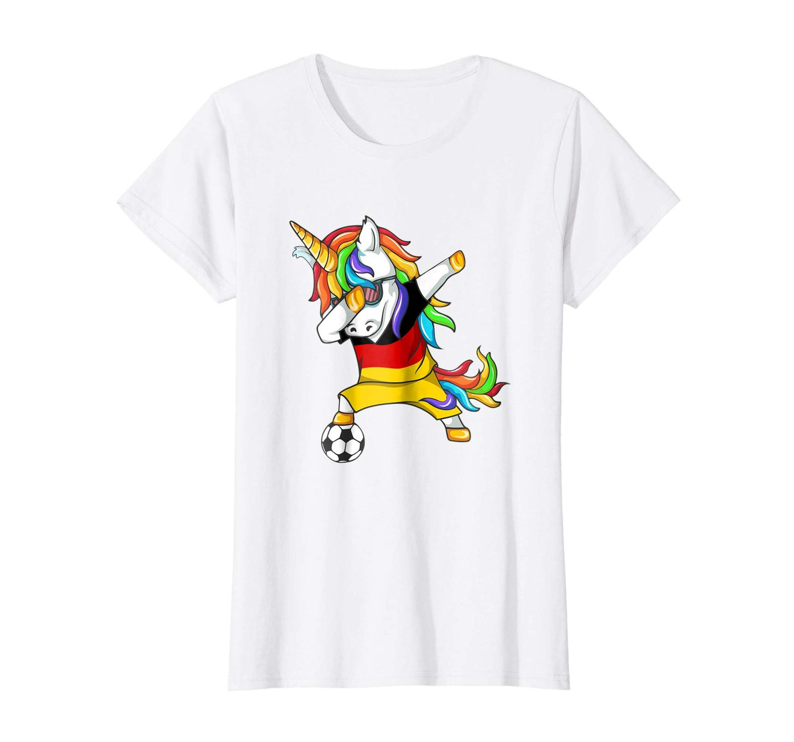 Primary image for New Shirts - Dabbing Soccer 2018 Unicorn Germany T-Shirt Wowen