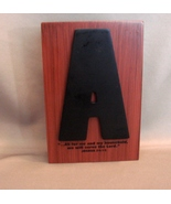 As for me and my house, we will serve the Lord  DESK /Shelf PLAQUE - $4.99