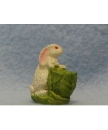 Bonnie franklin white bun rab w cabbage easter fig gemjanes dollhouse miniatures mt 1 thumbtall