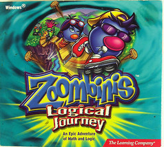 Zoombinis Logical Journey 2.0 Math Logic PC Software Game Windows 95/98/... - $6.92