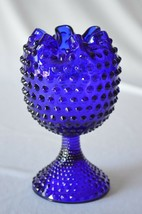 Duncan Miller Hobnail Cobalt Blue Violet Vase - $44.55
