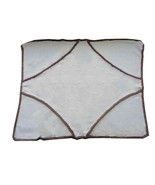 La Stupenderia Kids Knit 815808 Baby Blanket Light Blue - $295.31