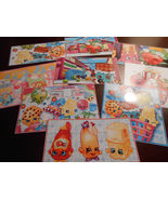 9 Shopkins Inspired Stickers, Birthday party favors, labels, rewards, cr... - $8.99