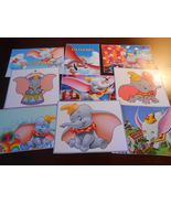 Dumbo Stickers, Birthday Party Favors, Labels, Rewards, Crafts - $8.99