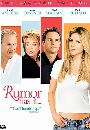 Rumor Has It (DVD, 2006, Full Frame) (DVD, 2006)