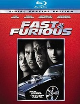 Fast & Furious (Blu-ray Disc, 2009, Special Edition)